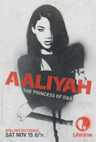 Aaliyah: The Princess of R&B - Promotional poster