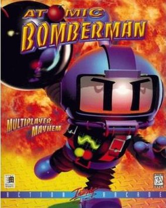 Atomic Bomberman - North American cover art