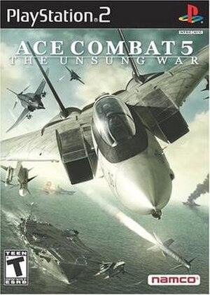 Ace Combat 5: The Unsung War - Image: Ac 5box