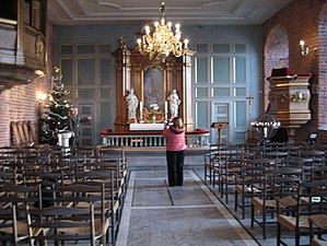 Inside the Akershus fortress church