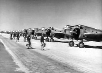 New Mexico during World War II - AT-11 bombardier training at Kirtland Field in 1943.