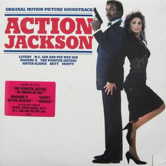 Action Jackson (soundtrack) - Image: Album cover to the movie sound track Action Jackson