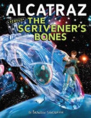 Alcatraz Versus the Scrivener's Bones - Cover of Alcatraz Versus the Scrivener's Bones, Brandon Sanderson's second in the series.
