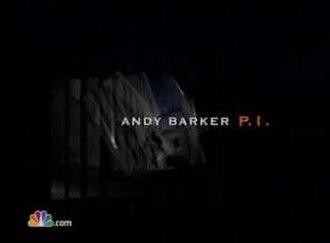 Andy Barker, P.I. - Image: Andy Barker, P.I