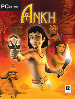 Ankh (video game) - PC Cover art