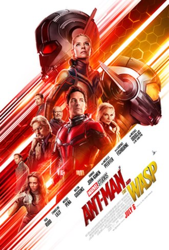 Ant-Man and the Wasp - Theatrical release poster