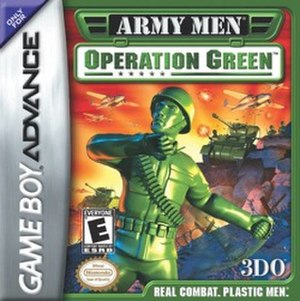 Army Men: Operation Green - Image: Army Men Operation Green cover art