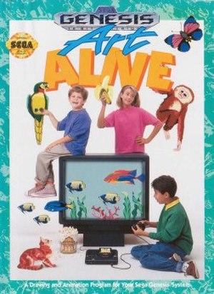 Art Alive! - North American cover art