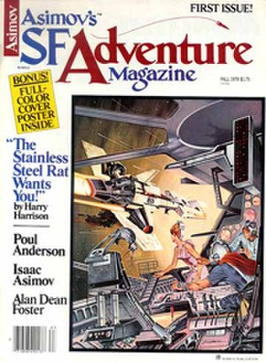 Asimov's SF Adventure Magazine - First issue cover