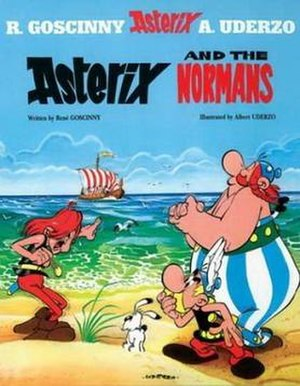 Asterix and the Normans - Image: Asterixcover 9