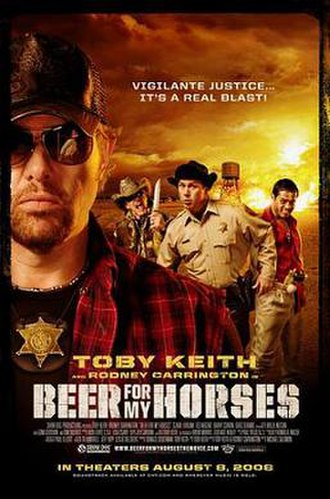Beer for My Horses (film) - Theatrical release poster
