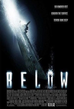 Below (film) - Theatrical release poster