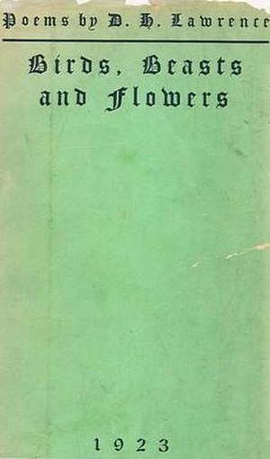 Birds, Beasts and Flowers - First edition (publ. Martin Secker)