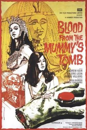 Blood from the Mummy's Tomb - Theatrical release poster