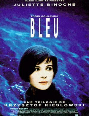 Three Colours: Blue - French release poster