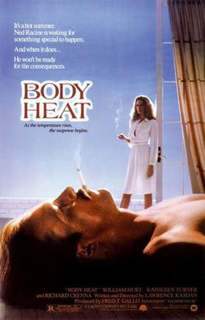 Body Heat - theatrical release poster