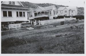 Bolinas, California - Earthquake-damaged homes along Brighton Avenue, Bolinas, 1906