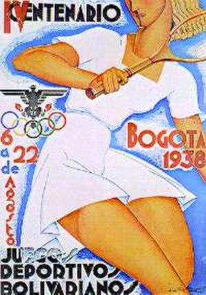 1938 Bolivarian Games - Image: Bolivarianos 1938