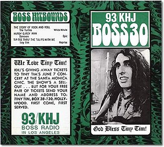 RKO General - Promotional material from 1968 for KHJ (AM) in Los Angeles, where the nationally successful Boss Radio format was launched.