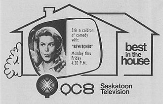 CFQC-DT - CFQC-TV used this logo and promotional format as of Fall 1973.