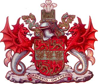 Caernarfonshire - Image: Caerns arms