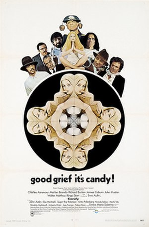Candy (1968 film) - original film poster