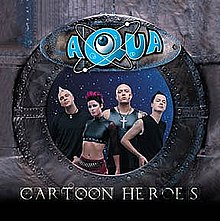 Aqua - Cartoon Heroes (studio acapella)