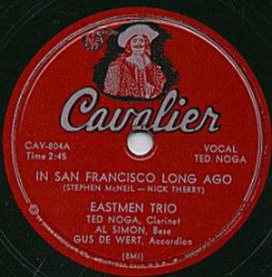 Cavalier Records - Image: Cavalier Record