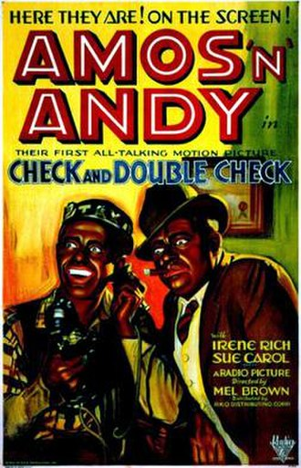 Check and Double Check - Theatrical release poster
