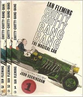 <i>Chitty-Chitty-Bang-Bang</i> Childrens novel written by Ian Fleming