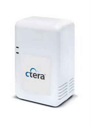 Plug computer - CloudPlug, a plug computer developed by CTERA Networks