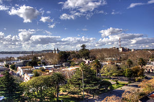 Colonia del Sacramento - Image: Colonia from Faro view TM