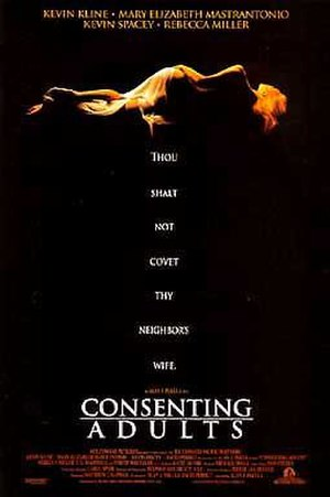 Consenting Adults (1992 film) - Theatrical release poster