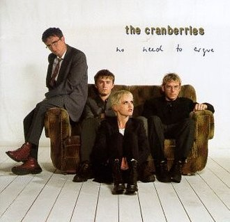 No Need to Argue - Image: Cranberries No Need To Argue Albumcover