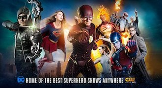 Arrowverse - Promotional image for the 2016–17 television season