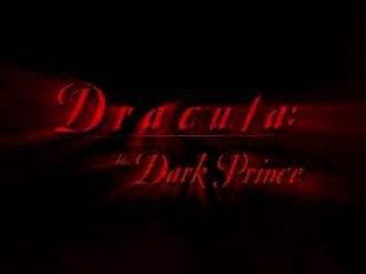 Dark Prince: The True Story of Dracula - Image: Dark Prince The True Story of Dracula