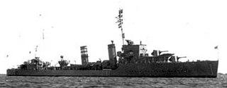 HMS <i>Keith</i> destroyer