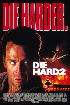 Die Hard 2 - Theatrical release poster