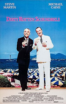 <i>Dirty Rotten Scoundrels</i> (film) 1988 film by Frank Oz