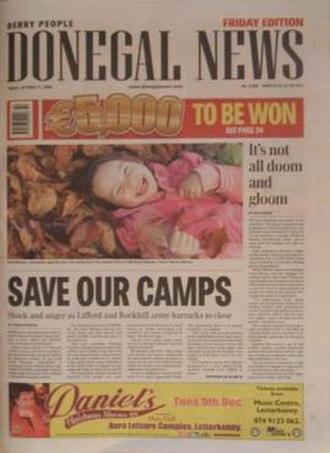 Donegal News - Friday edition