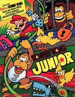 <i>Donkey Kong Jr.</i> 1982 video game