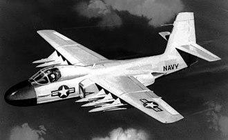Douglas F6D Missileer - Artist's conception of the F6D-1 Missileer in flight