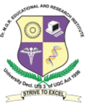 Dr. M.G.R. Educational and Research Institute - Image: Dr. M.G.R. Educational and Research Institute logo