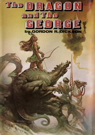 The Dragon and the George - Dust jacket from the first edition