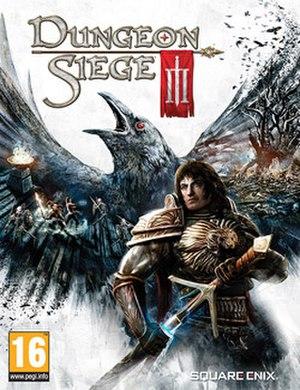Dungeon Siege III - European cover art
