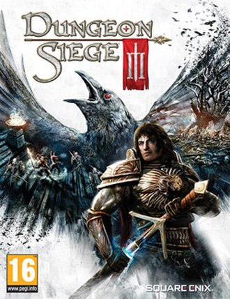 Dungeon Siege III - European cover art