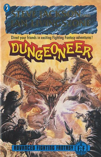 Advanced Fighting Fantasy - Cover of Dungeoneer