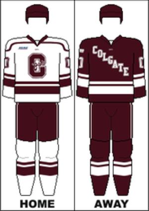 Colgate Raiders men's ice hockey - Image: ECAC Uniform Colgate