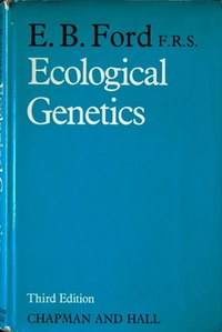 Ecological Genetics (E B Ford book).jpg