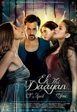 Ek Thi Daayan - Theatrical release poster